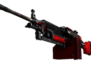 StatTrak™ M249 | System Lock (Well-Worn)