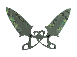★ Shadow Daggers   Boreal Forest (Well-Worn)