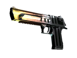 Desert Eagle | Light Rail (Battle-Scarred)