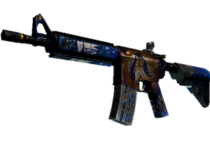 M4A4 | The Emperor (Battle-Scarred)