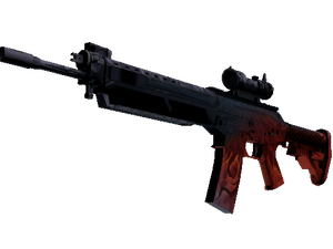 SG 553 | Darkwing (Field-Tested)