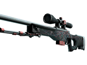 StatTrak™ AWP | Capillary (Well-Worn)