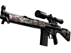 StatTrak™ G3SG1 | Digital Mesh (Well-Worn)
