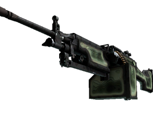 StatTrak™ M249 | Deep Relief (Well-Worn)