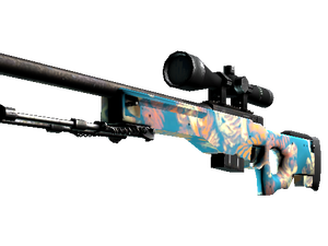 AWP | Silk Tiger (Minimal Wear)