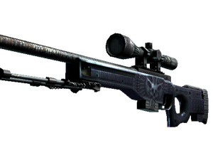 StatTrak™ AWP | Exoskeleton (Battle-Scarred)