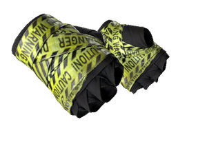 ★ Hand Wraps | CAUTION! (Field-Tested)
