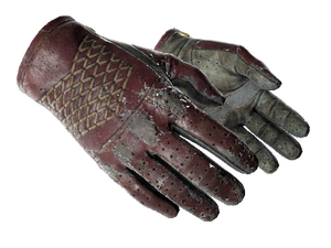 ★ Driver Gloves   Rezan the Red (Battle-Scarred)