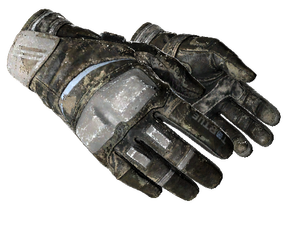 ★ Moto Gloves | Smoke Out (Battle-Scarred)