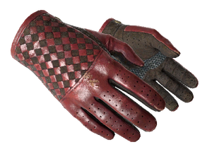 ★ Driver Gloves   Crimson Weave (Field-Tested)