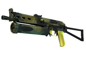 StatTrak™ PP-Bizon | Jungle Slipstream (Minimal Wear)