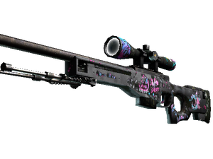 StatTrak™ AWP | Fever Dream (Battle-Scarred)